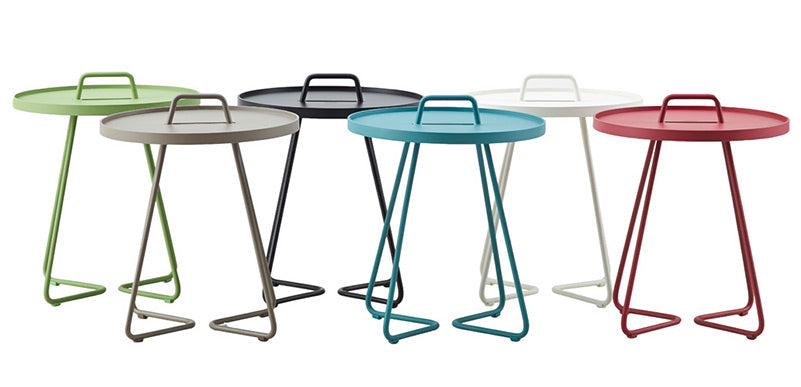 Cane-line On-the-Move Side Tables