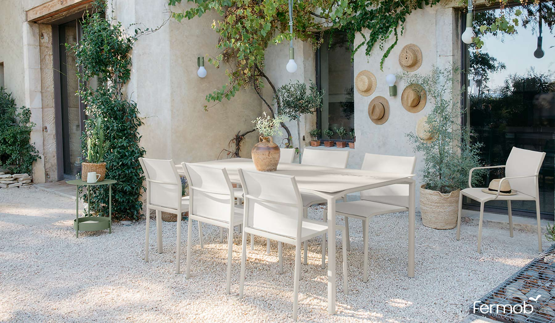 Fermob Calvi Large Outdoor Dining Table