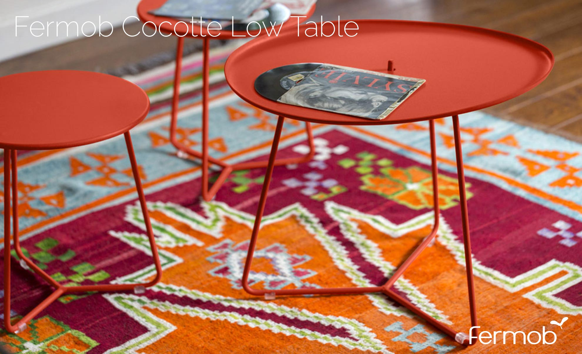 Fermob Cocotte Low Table