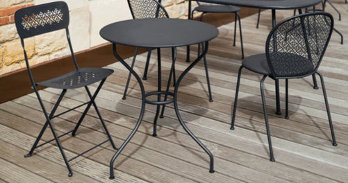 Fermob Opera 26 Inch Table Lifestyle image