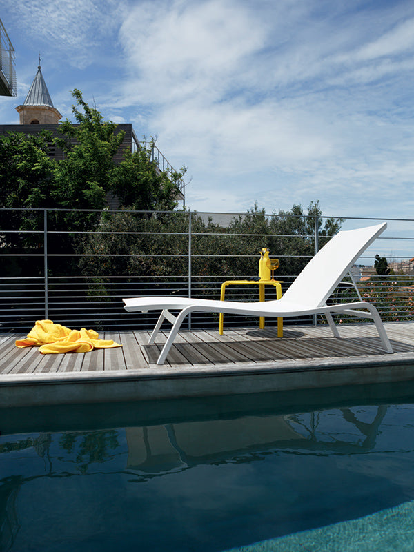 alize chair by pool