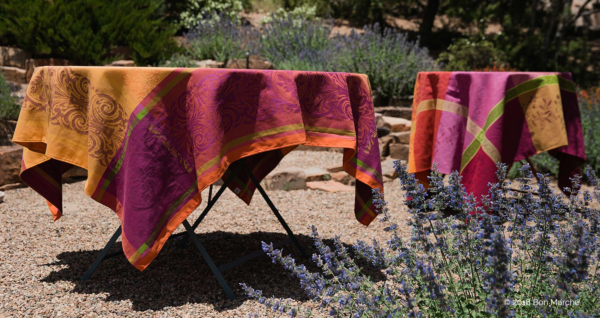 French jacquard table cloth