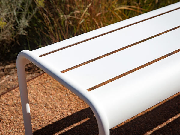 Fermob luxembourg bench detail
