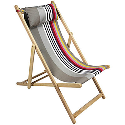 striped fabric patio lounge chairs