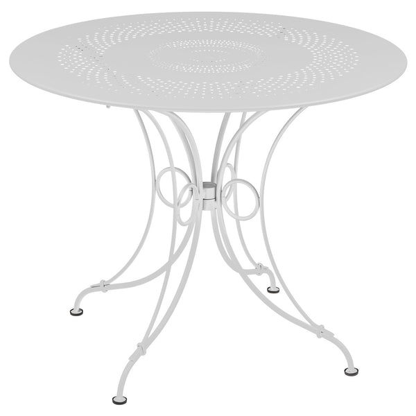 Fermob 1900 38 inch Round Dining Table - bonmarche