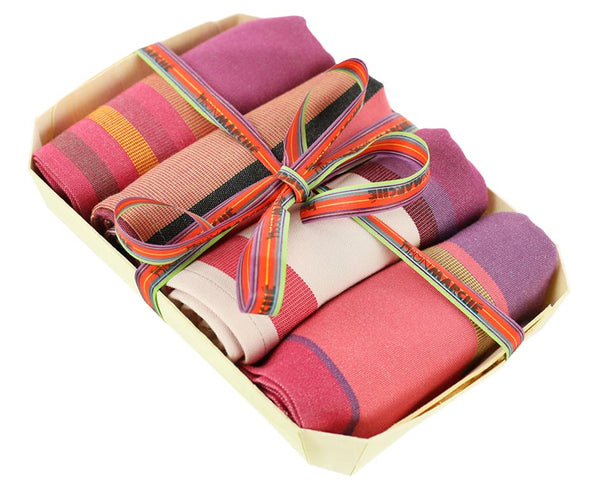 Striped Napkins Set of 4