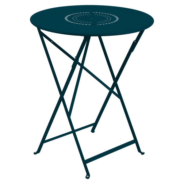 "Fermob Floreal 23.5"" Round Dining Table"