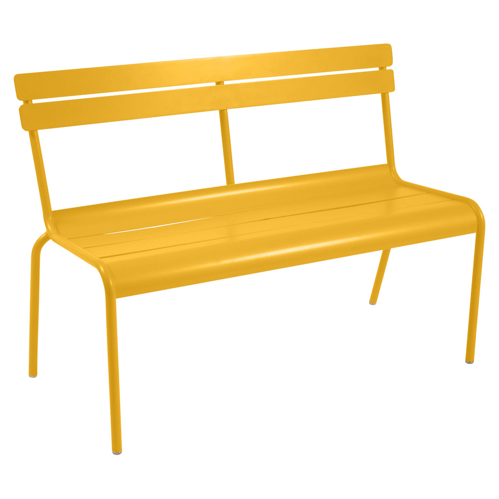 Fermob Luxembourg 2/3 Seater Bench With Backrest - bonmarche