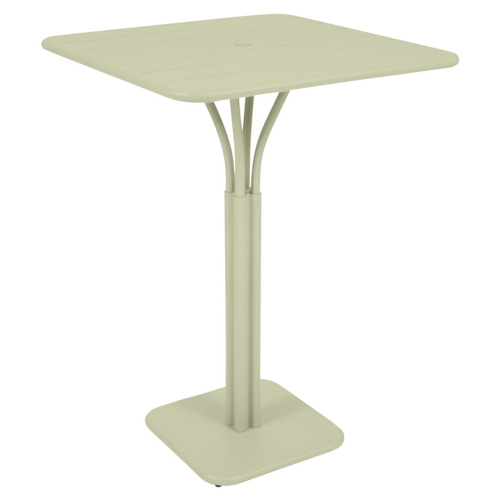 "Fermob Luxembourg 31"" x 31"" High Pedestal Bar Table - bonmarche"
