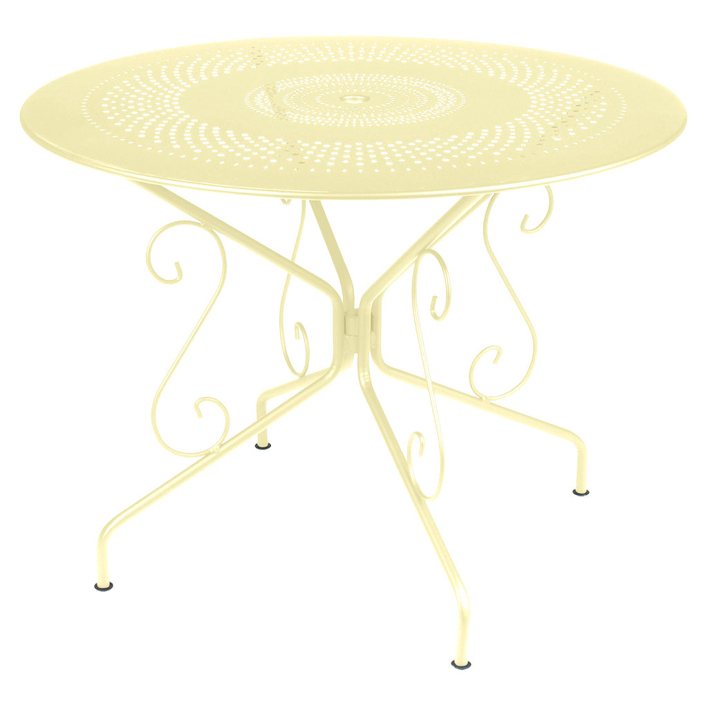 Fermob Montmartre 38 inch Round Dining Table
