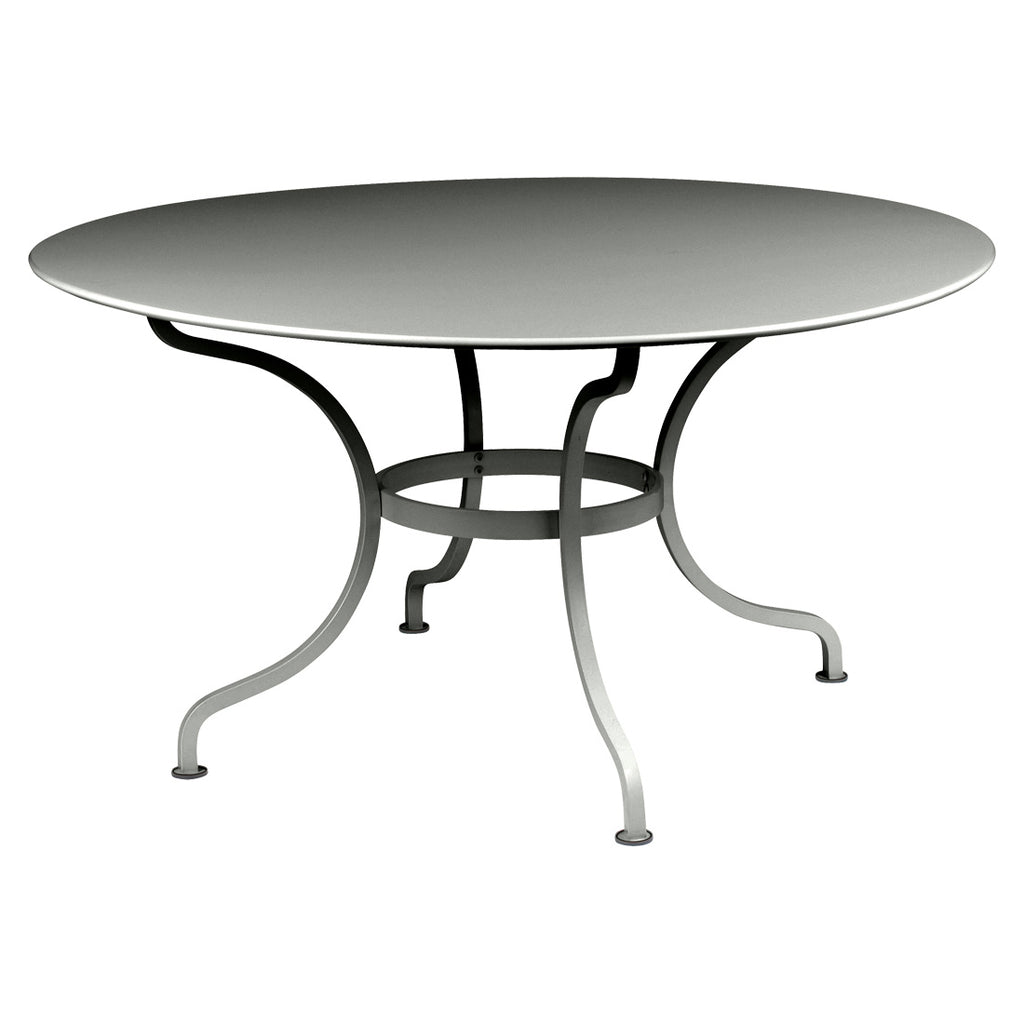 Fermob Romane Table 46 Inch Round Dining Table - bonmarche
