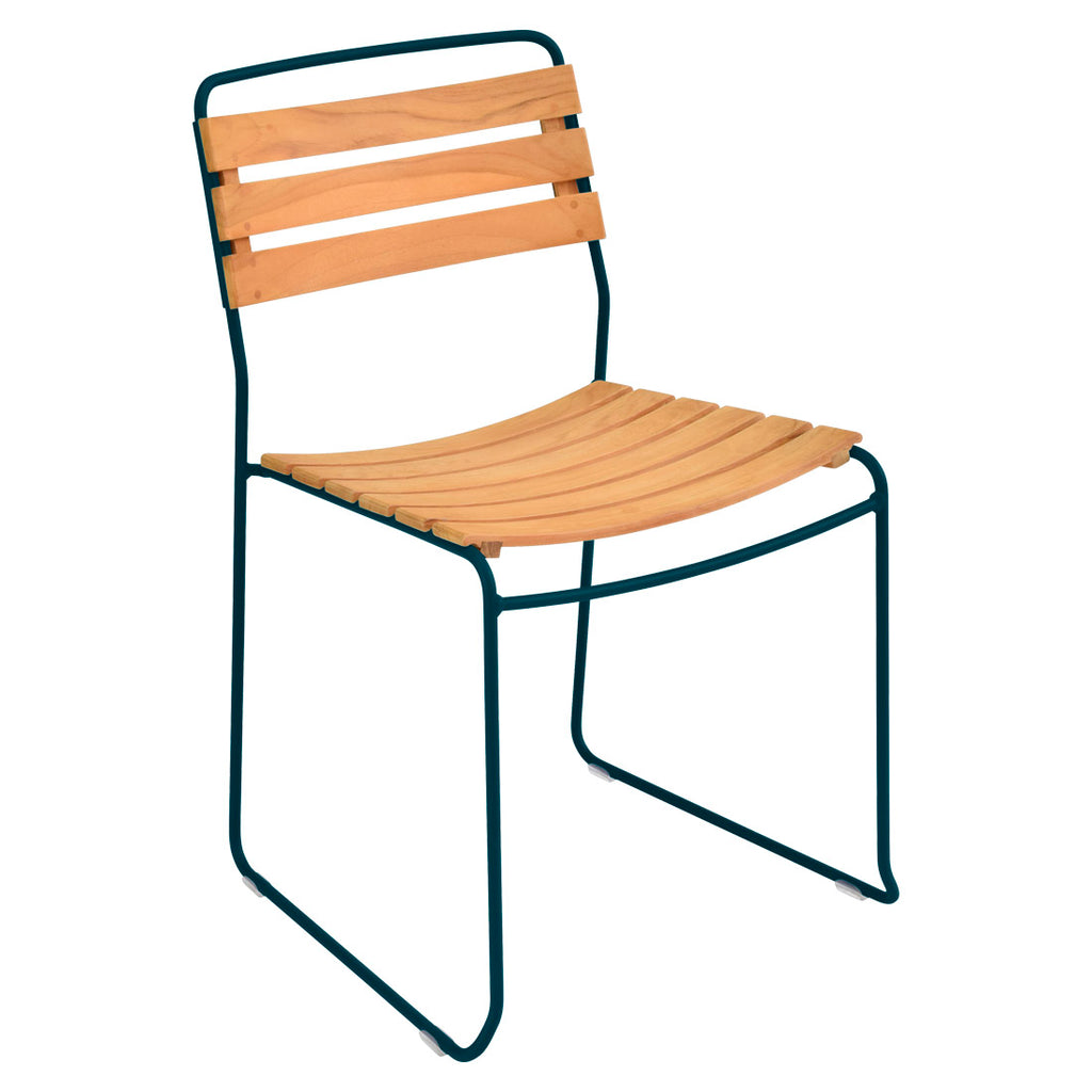 Fermob Surprising Teak Dining Chair - bonmarche