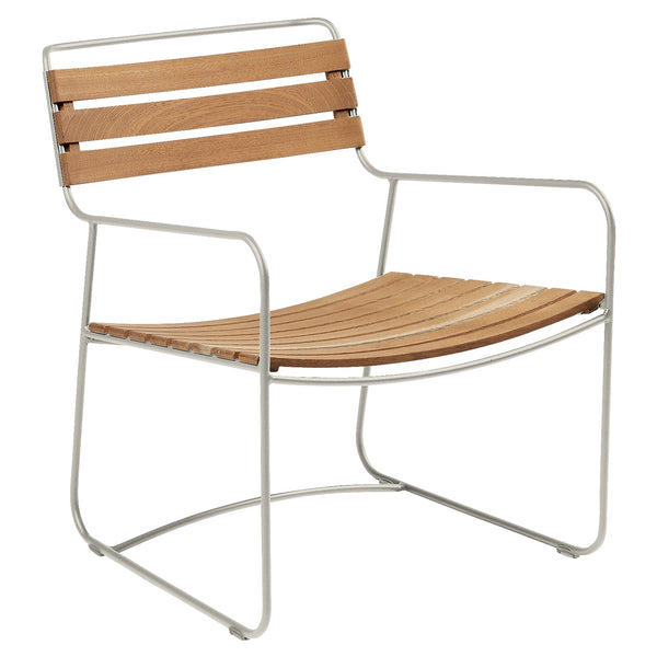 Fermob Surprising Teak Low Armchair - bonmarche