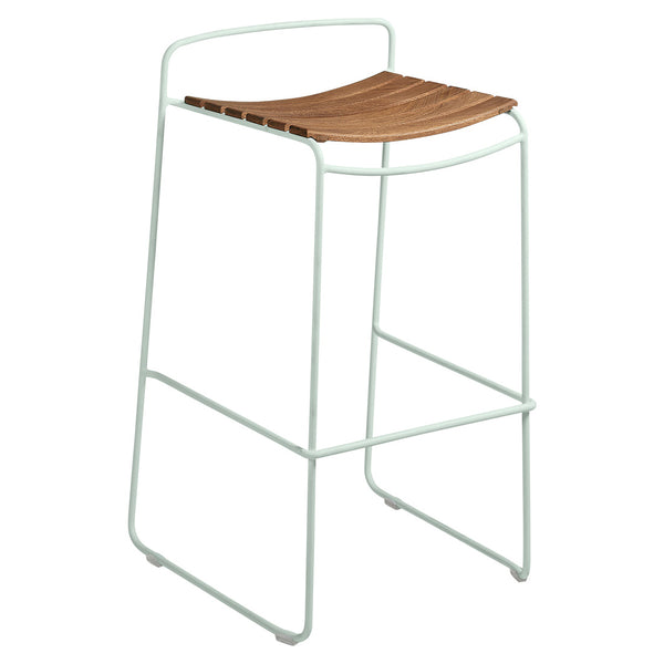 Fermob Surprising Teak Bar Stool - bonmarche
