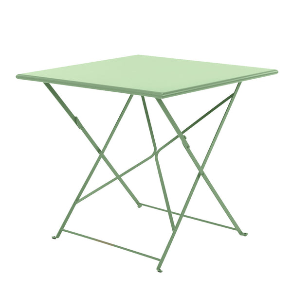 Ethimo Flower Bistro Square 31.5 Inch Folding Table