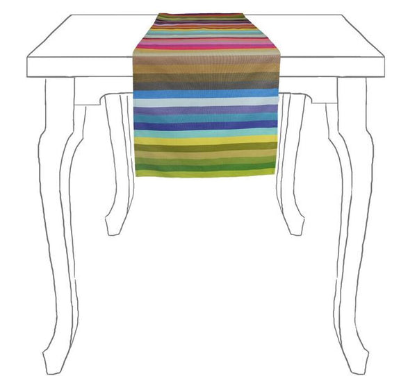 Striped Table Runner - bonmarche