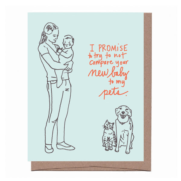 New Baby Promise Card