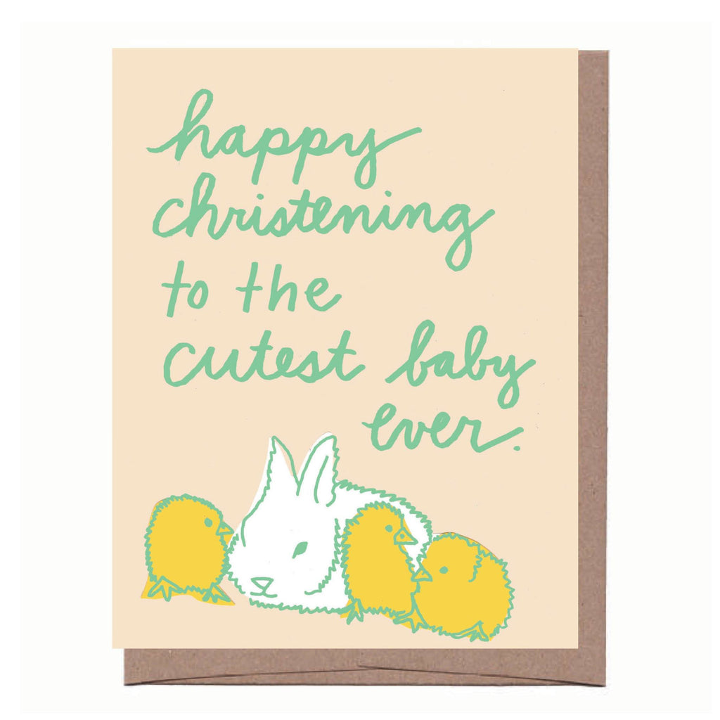 Cute Christening Card