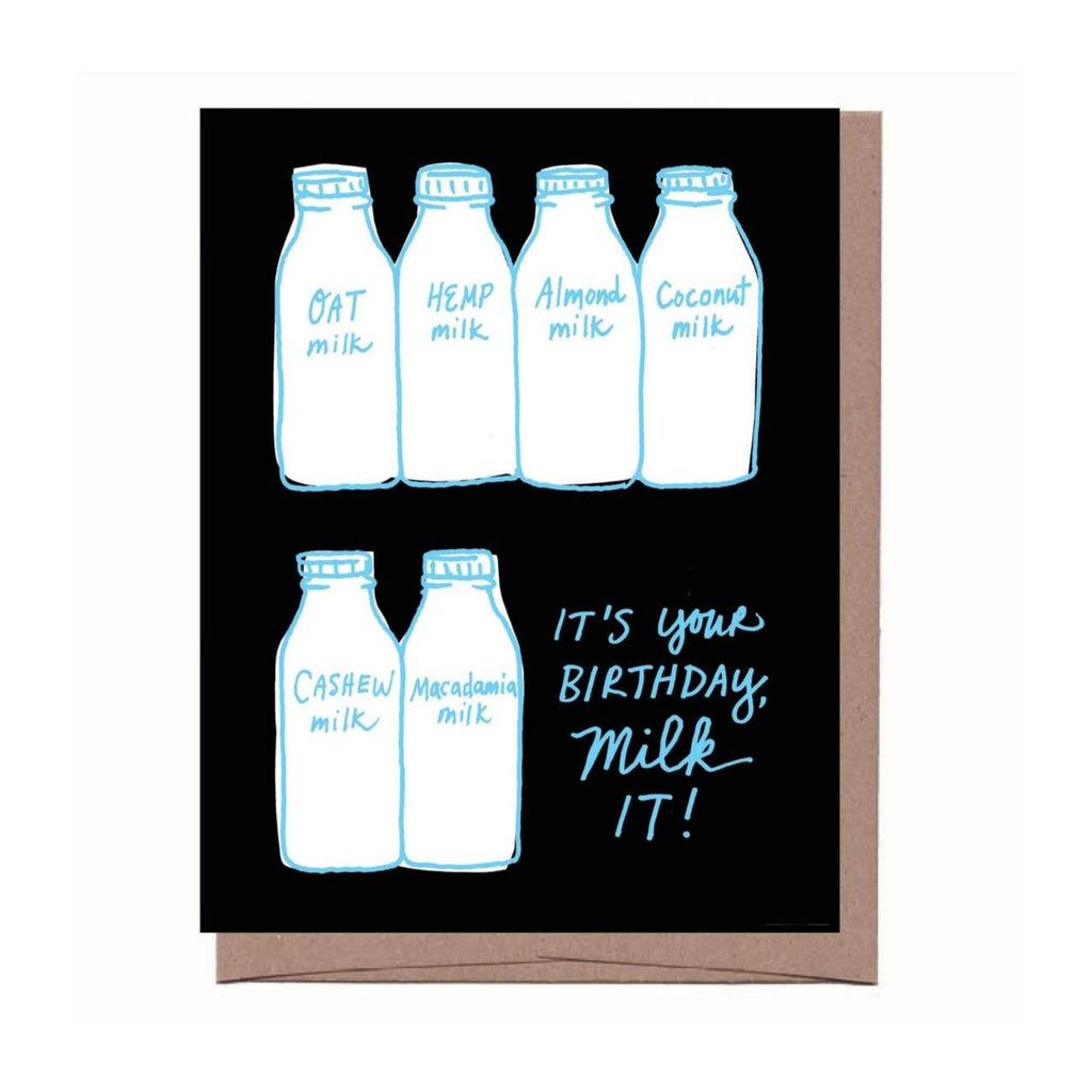 Milk It Birthday Card