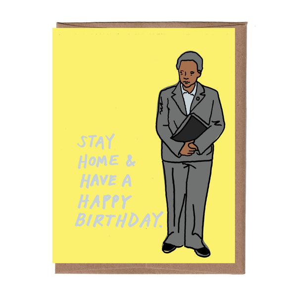 Chicago Mayor Lightfoot Birthday Card