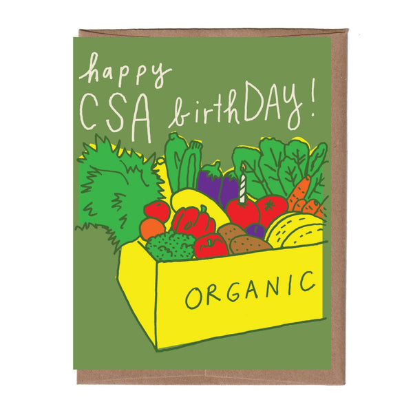 CSA Birthday Card