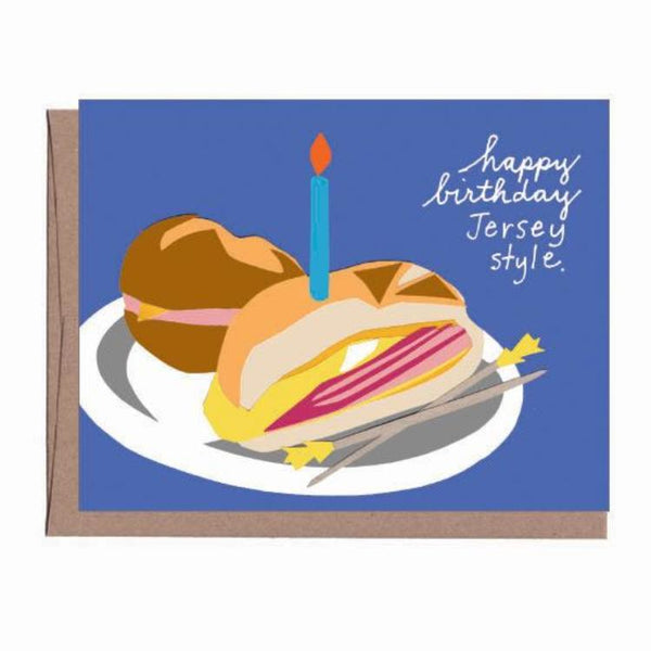 Pork Roll Birthday Card