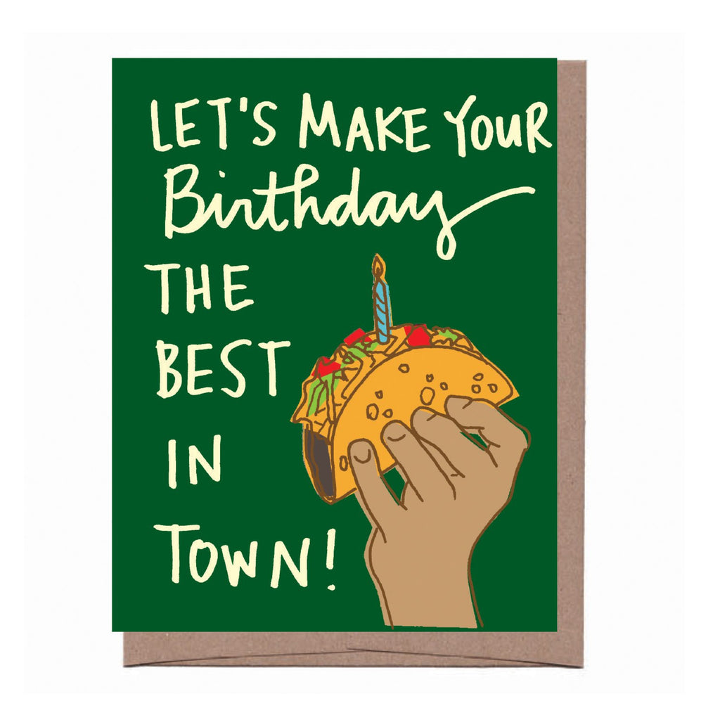 Taco Birthday Card
