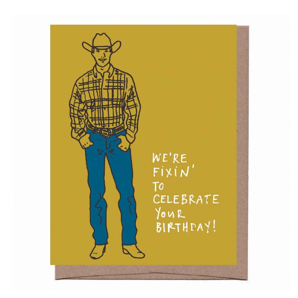 Fixin' Birthday Card