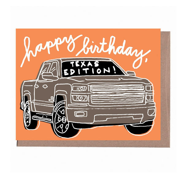 Texas Edition Birthday Card