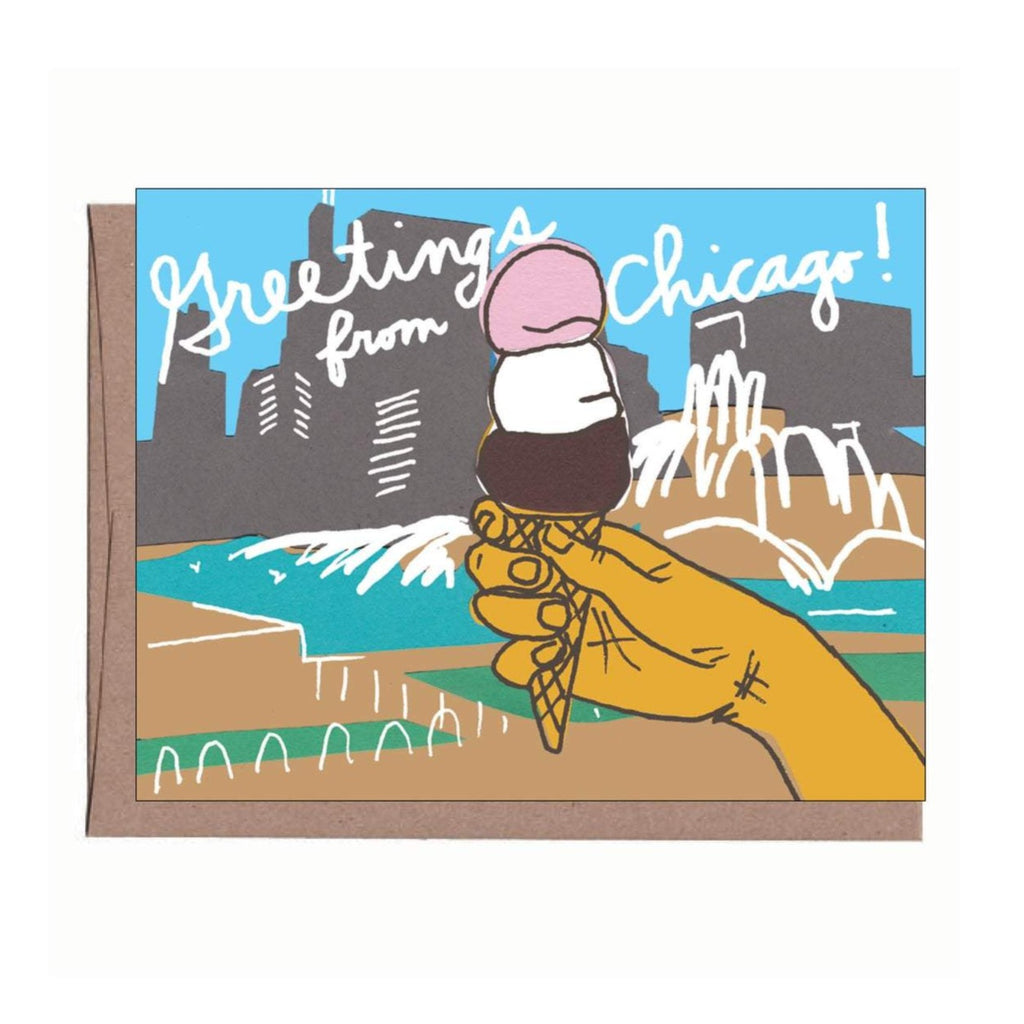 City Ice Cream Card
