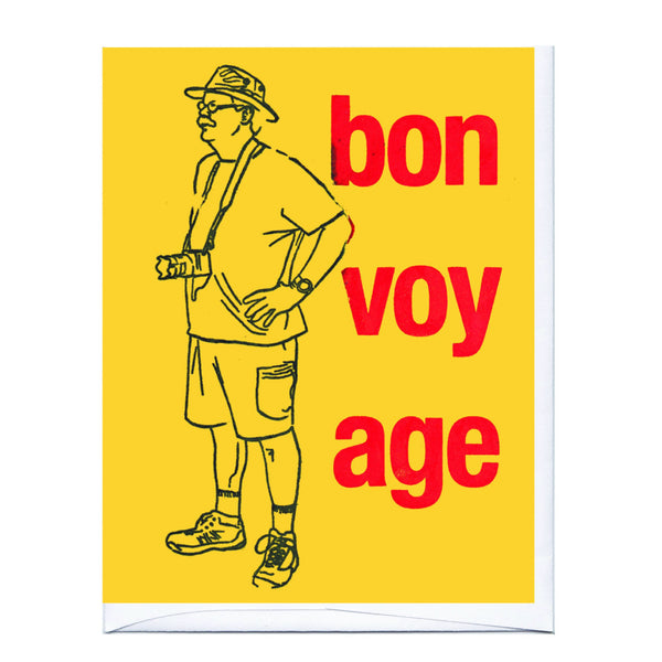 Bon Voyage Joe Card