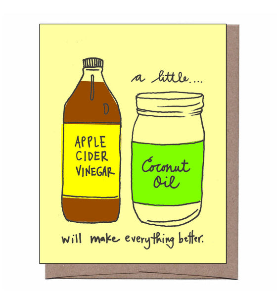 Apple Cider Vinegar Card
