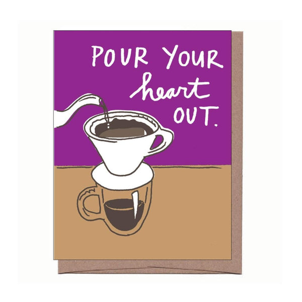 Pour Over Card