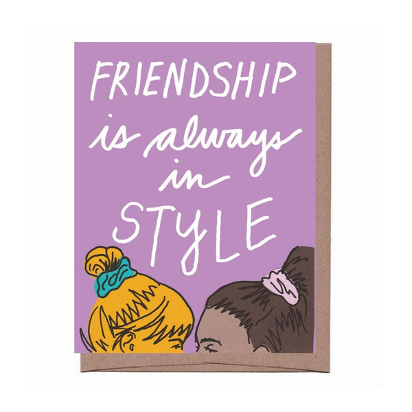 Scrunchie Friends Card