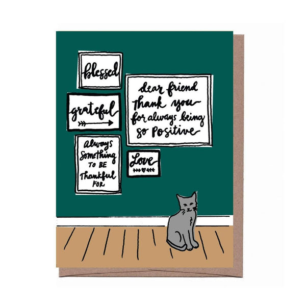 Positive Friend Card