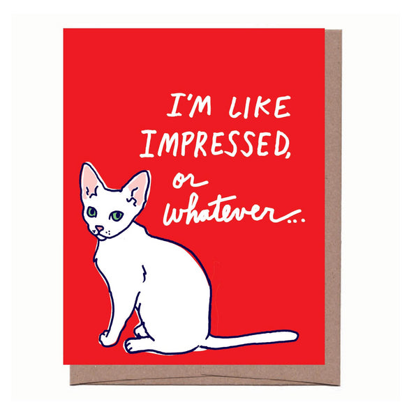 Lulu Impressed Congrats Card