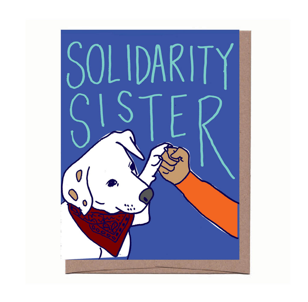 Solidarity Sisier Card
