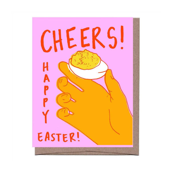 Deviled Egg Easter Card