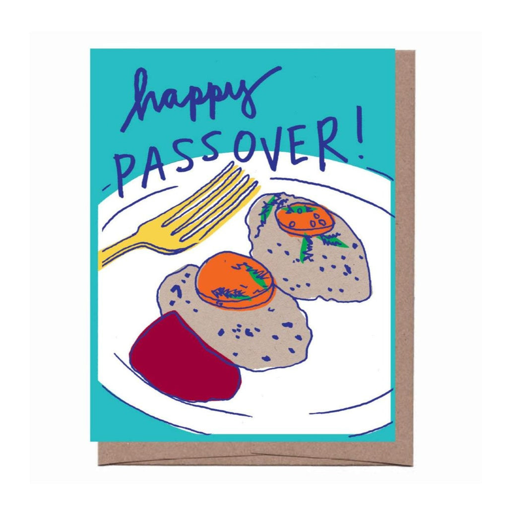 Gefilte Fish Passover Card