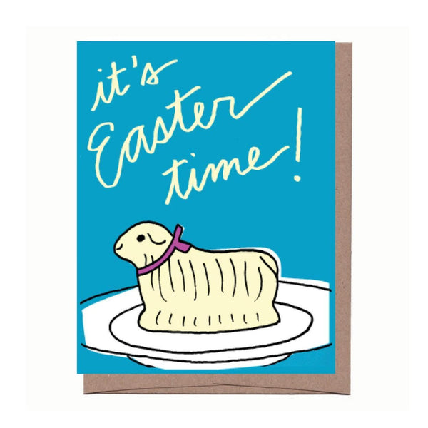 Butter Lamb Easter Card