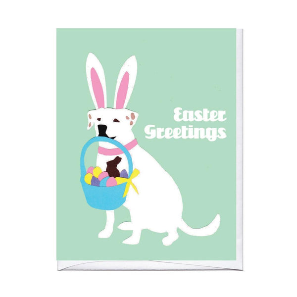 Doggy Easter Card