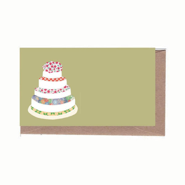 Wedding Cake Enclosure Note