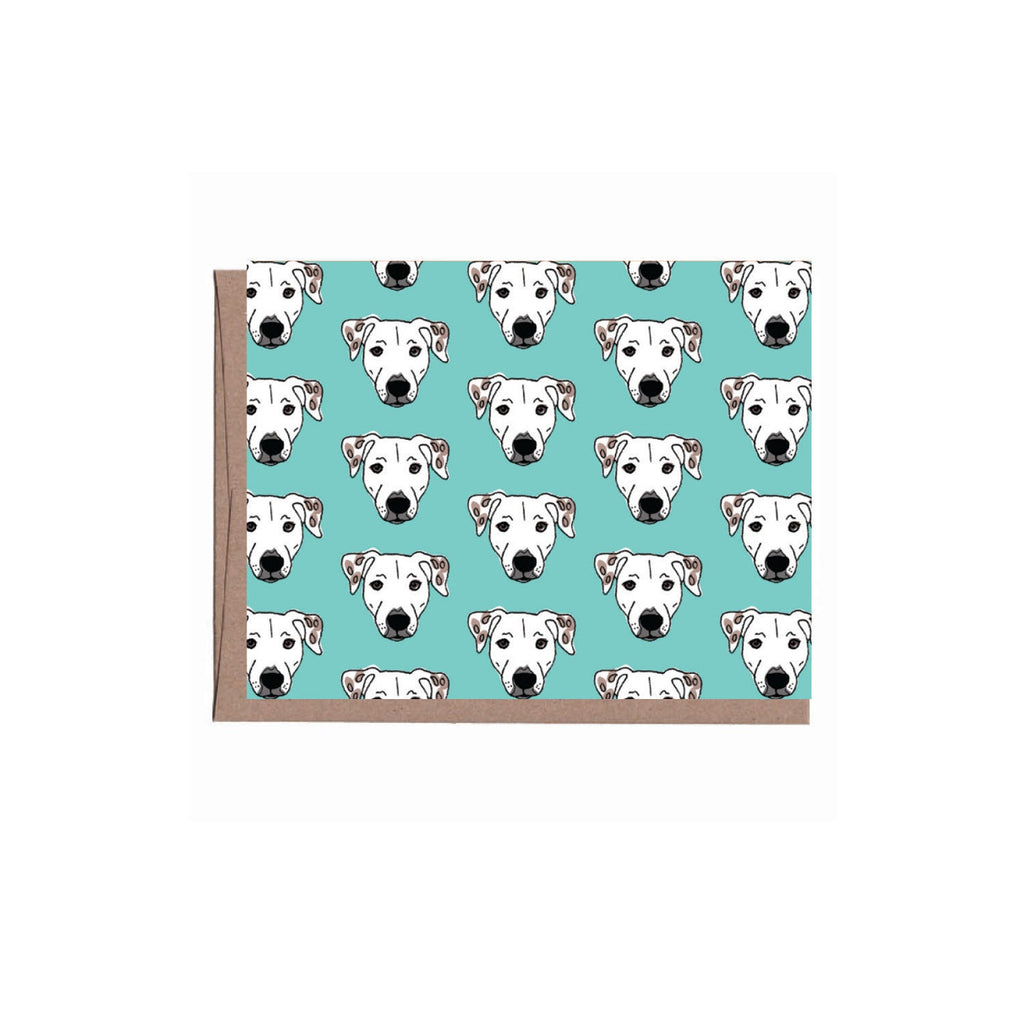 Blue Dog Note Card