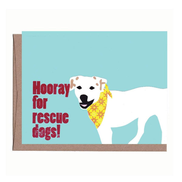 Rescue Dog Card