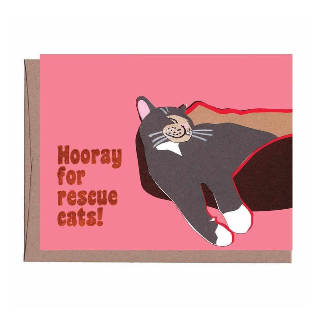 Rescue Cat Card