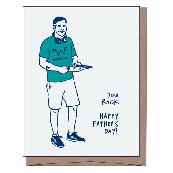 Dad Rock Father's Day Card