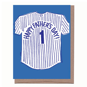 Dad Jersey Father's Day Card