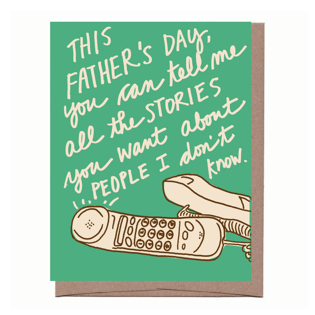 Dad Stories Father's Day Card