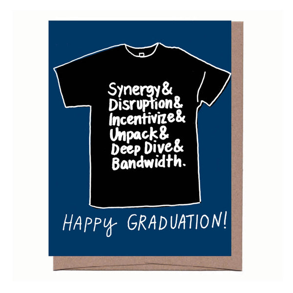 Graduation T-shirt Card