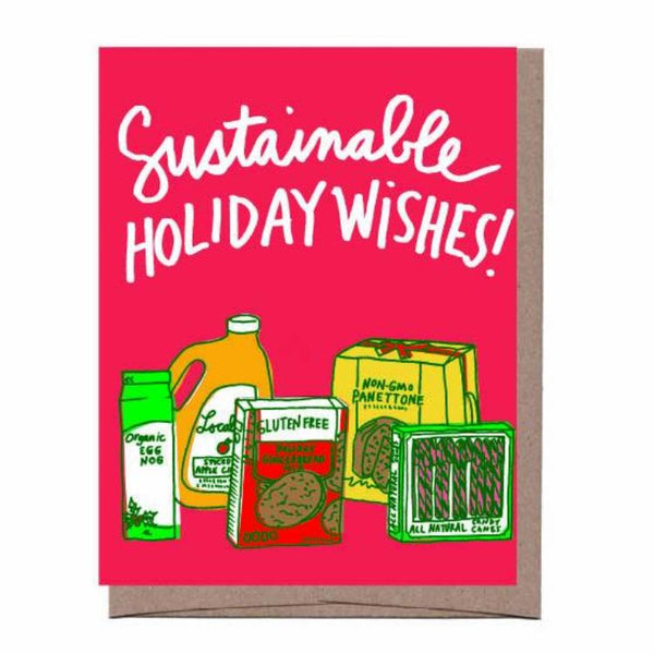 Sustainable Holiday Card